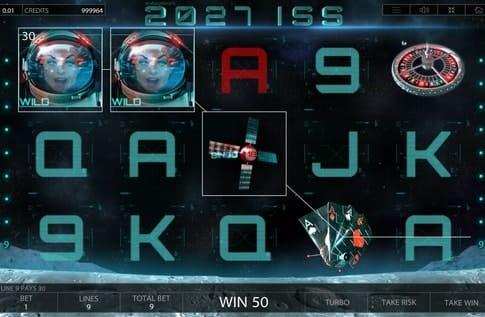 Дикие символы игрового автомата 2027 ISS