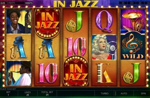 Комбинация в онлайн игре In Jazz